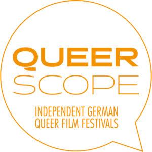 Logo von Queerscope, dem Dachverband deutscher queerer Filmfestivals