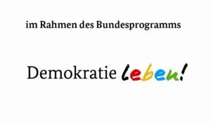 Logo für Demokratie Leben!
