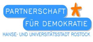 Logo für Partnerschaft für Demokratie der Hansestadt Rostock